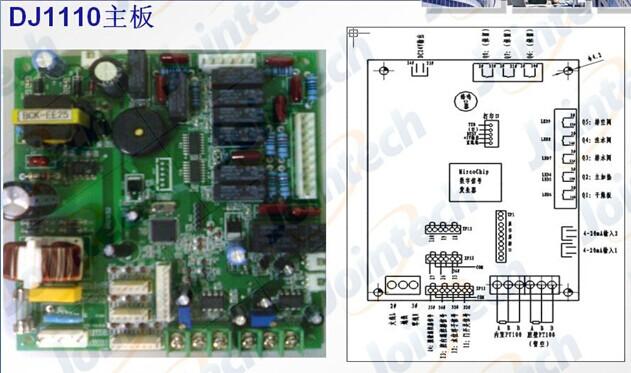 dz400真空包装机控制板接线图